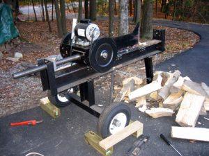 build a log splitter