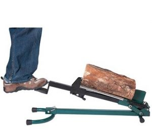 how to make a manual log splitter