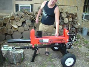 Why buy Electric wood splitter used?