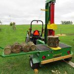 Trailer mounted Log Splitter